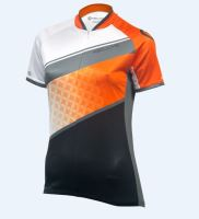Dres KELLYS JODY krátký rukáv orange - grey (016)