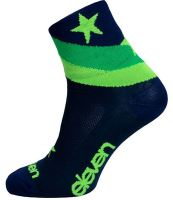 Ponožky ELEVEN Howa STAR Blue modro-zelené