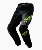 Kalhoty O'Neal Element RACEWEAR černá/žlutá vel.32