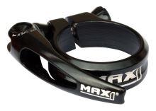 Sedlová objímka MAX1 Race 34,9mm rychloupínací černá