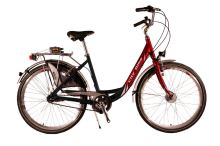 "Cestovní kolo CITY BIKE 26"" Alu 3sp. red/black Standart"
