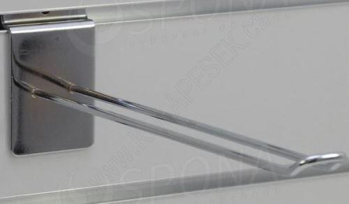 SLAT háček EURO délka 250 mm, chrom (47057425)
