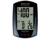 CATEYE Cyklopočítač CAT Strada Digital Wireless (RD410DW)  (černá)