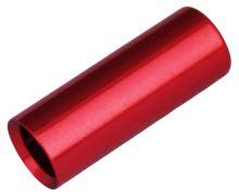 Koncovka bowdenu Max1 CNC alu 4mm červená 100ks