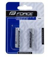 Baterie FORCE mikrotužkové AAA/ 1,5V 1 x 2ks