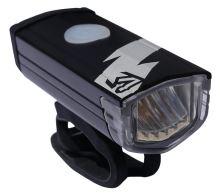 Světlo přední ROCK MACHINE Flash 200lm černé