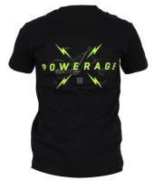Tričko ROCK MACHINE pánské černé logo POWERAGE