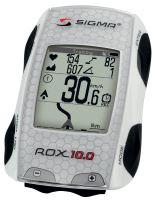 Cyklocomputer SIGMA ROX 10.0 GPS BASIC bílá