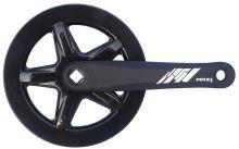 Kliky MAX1 Single 42z 175mm černé s krytem