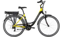 Elektrokolo Lovelec Capella Black/Yellow model 2021, 360Wh