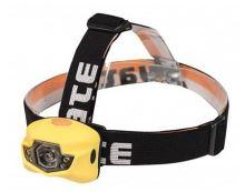 Čelovka Panter 3 W CREE+2 LED žlutá