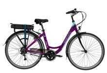 """Elektrokolo LOVELEC Capella 2020 violet/blue, vel. 19"""", nosičová baterie 10Ah, zadní motor"""