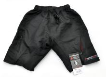 Kalhoty krátké Freeride ATB Matrix černé s vložkou