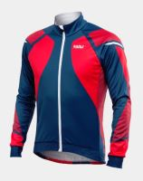 Zimní cyklistická bunda KALAS TITAN X8 pánská červená/modrá