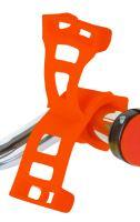 Silikonový držák ROTO pro mobil a navigaci oranžový