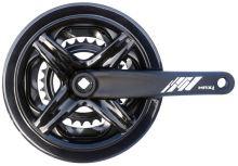 Kliky MAX1 Tour 48-38-28 175mm černé s krytem