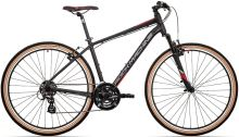kolo Rock Machine CrossRide 100 (XL) mat black/dark grey/brick red 2021