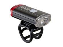 Světlo přední a zadní Author A-DoubleShot 250/12 lm USB černá