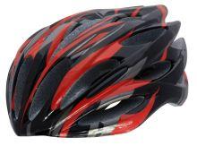 Přilba ROCK MACHINE Elite červeno/černá 54-60cm