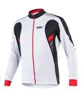 Cyklistický zateplený dres KALAS TITAN X6 červený pánský