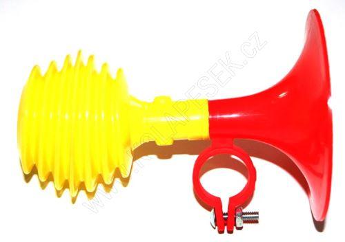 Houkačka žluto-červená dětská široká