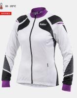 Cyklistický zateplený dres KALAS TITAN X8 dámský fialový