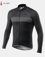 Cyklistický dres KALAS PASSION X7 černý dlouhý rukáv