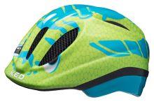 Přilba KED Meggy Trend Dino Lightblue Green