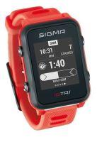 Chytré hodinky SIGMA iD TRI červené