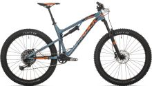 Rock Machine Blizzard 90-27+ slate grey/neon orange/black