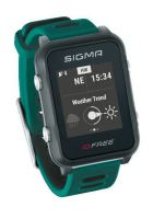 Chytré hodinky SIGMA iD FREE zelené