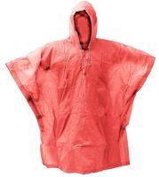 Pláštěnka PVC pončo oranžová