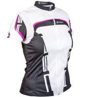 AUTHOR Dres Lady Sport k/r (15A bílá/černá/růžová)