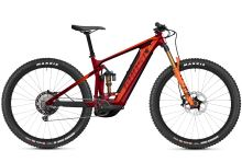Elektrokolo Ghost E-Riot Trail CF Pro B625 - Dark Red/Orange 2021