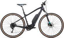 Elektrokolo Rock Machine Crossride e400 mat black/petrol blue/dark grey