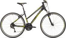 "Kolo Rock Machine CrossRide 350 Lady black/green/dark silver vel.17"""
