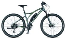 "Kolo AUTHOR Elevation 29 2019 šedá-matná/zelená MTB 29"" E-kolo"