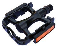 Pedály MAX1 Sport hliníkové černé