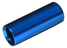 Koncovka bowdenu Max1 CNC alu 4mm utěsněná modrá 100ks