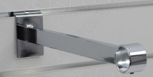 SLAT konzole pro trubku 33, délka 310mm, chrom (47057045)