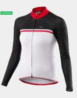 Cyklistický zateplený dres KALAS PASSION X7 dámský bílý