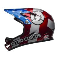 BELL Sanction Red/Slv/Blue Nitro Circus L