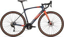 kolo Rock Machine GravelRide CRB 700 gloss dark blue/brick orange/silver 2021