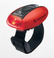 Blikačka SIGMA zadní Micro R červená