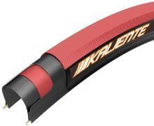 Plášť KENDA Kaliente 24x1, 540-23 120TPI Iron Cloak, červeno černý