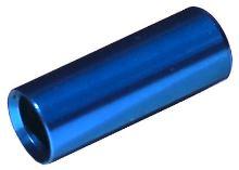 Koncovka bowdenu Max1 CNC alu 4mm modrá 100ks