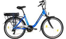 """Elektrokolo LOVELEC Norma BLUE 2020, vel. 17"""", nosičová baterie 10,5Ah, 250W. zadní motor"""