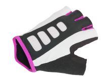 AUTHOR Rukavice Lady Sport Gel X6 k/p (bílá/růžová)