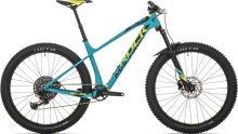 Rock Machine Blizz CRB 50-27+ petrol blue/radioactive yellow/black
