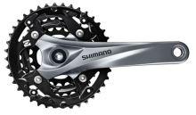 Kliky SHIMANO Acera FC-M3000 175mm 40x30x22, stříbrno/černé, bez krytu ,9 speed